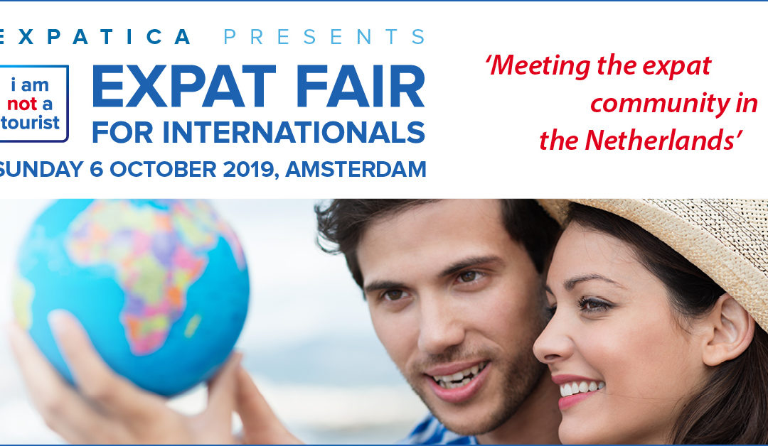 "Meet us at the annual ""I am not a tourist expat fair"""